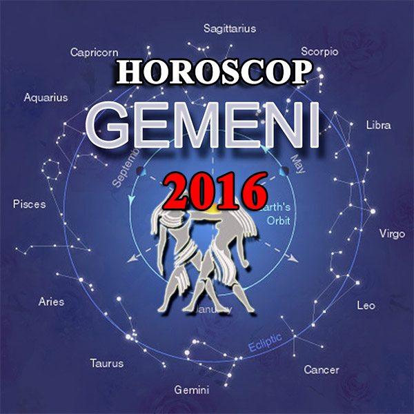 Horoscop gemeni 2016