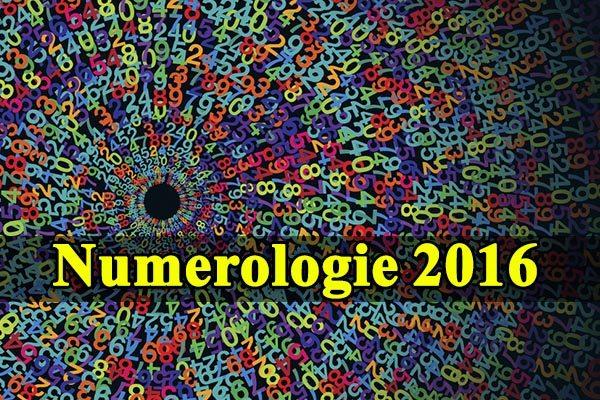 Numerologie 2016