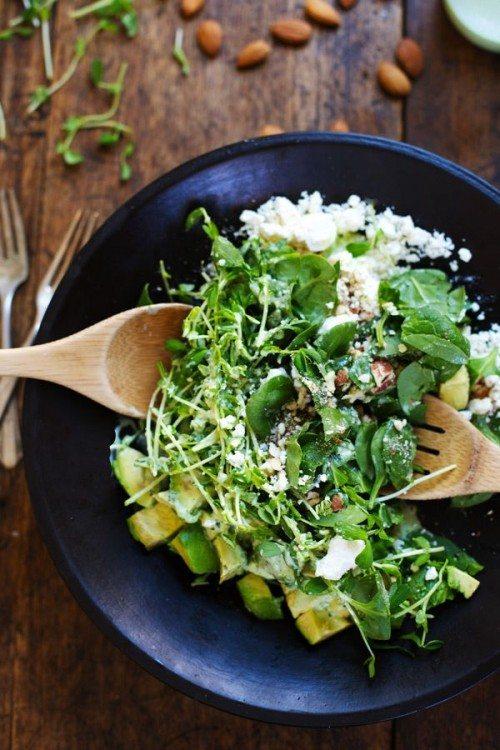 Salata de spanac in stil grecesc