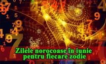 NUMEROLOGIE: Zilele norocoase în iunie pentru fiecare zodie