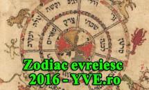 Zodiac evreiesc 2016