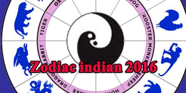Zodiac indian 2016