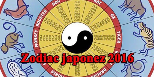 Zodiac japonez 2016