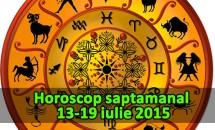 Horoscop saptamanal 13-19 iulie 2015