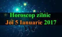 Horoscop zilnic Joi, 5 Ianuarie 2017