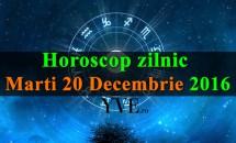 Horoscop zilnic Marti, 20 Decembrie 2016