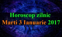 Horoscop zilnic Marti, 3 Ianuarie 2017