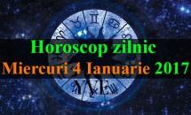 Horoscop zilnic Miercuri, 4 Ianuarie 2017