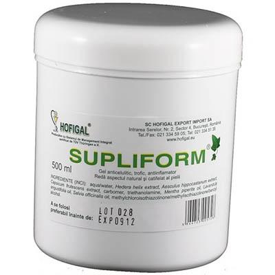 Supliform Gel, gel anticelulitic de la Hofigal