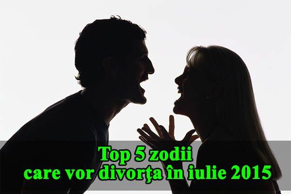 Top 5 zodii care vor divorţa în iulie 2015