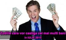 Zodiile care vor castiga cei mai multi bani in IULIE 2015