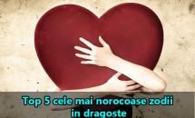 Top 5 cele mai norocoase zodii in dragoste