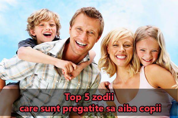 Top 5 zodii care sunt pregatite sa aiba copii