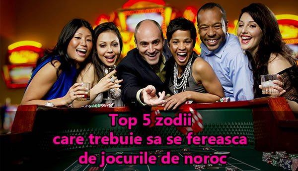 Top 5 zodii care trebuie sa se fereasca de jocurile de noroc