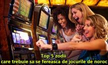 Top 5 zodii care trebuie sa se fereasca de jocurile de noroc. Pot pierde totul.