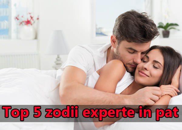 Top 5 zodii experte in pat