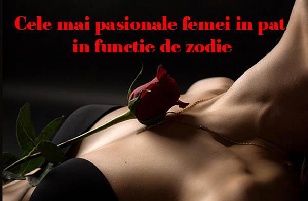 Cele mai pasionale femei in pat in functie de zodie