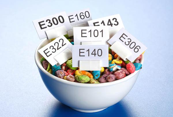 E-uri din alimente care pot fi consumate