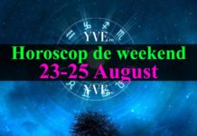Horoscop de weekend 23-25 August 2019