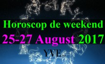 Horoscop de weekend 25-27 August 2017