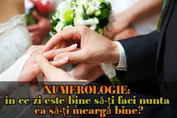 în ce zi este bine să-ți faci nunta ca să-ți meargă bine