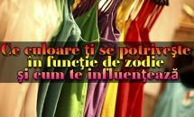HOROSCOP: Ce culoare ţi se potriveşte în funcţie de zodie şi cum te influenţează