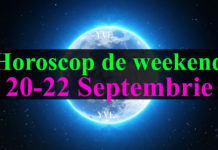 Horoscop de weekend 20-22 Septembrie 2019