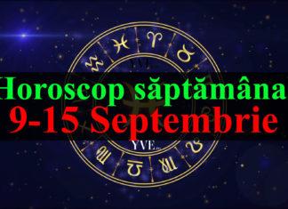 Horoscop saptamanal 9-15 Septembrie 2019