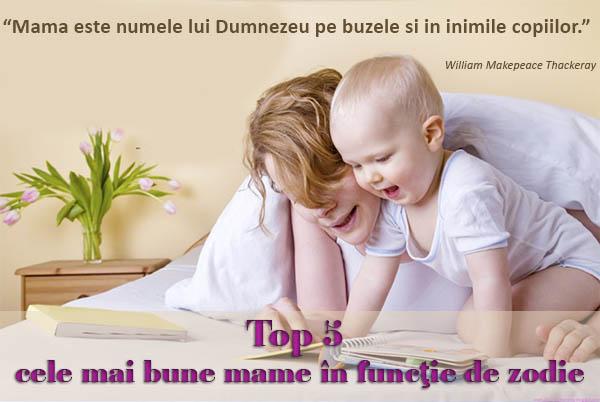 Top 5 cele mai bune mame în funcţie de zodie