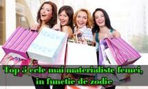 Top 5 cele mai materialiste femei, in functie de zodie