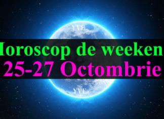 Horoscop de weekend 25-27 Octombrie 2019