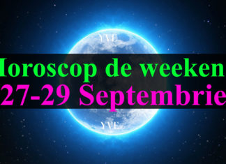 Horoscop de weekend 27-29 Septembrie 2019
