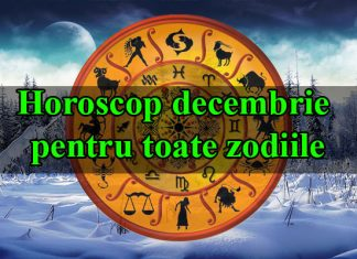 Horoscop decembrie 2018