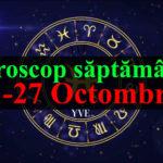 Horoscop saptamanal 21-27 Octombrie 2019