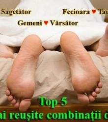 Top 5 cele mai reuşite combinaţii de zodii