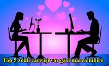 Top 5 zodii care îşi vor găsi marea iubire pe Facebook