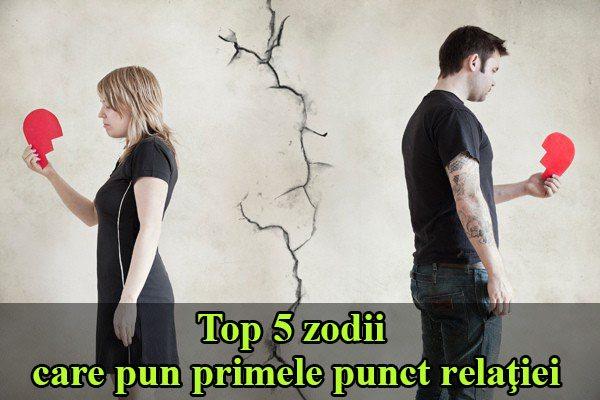 Top 5 zodii care pun primele punct relaţiei