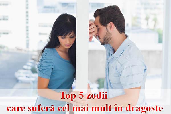 Top 5 zodii care suferă cel mai mult în dragoste