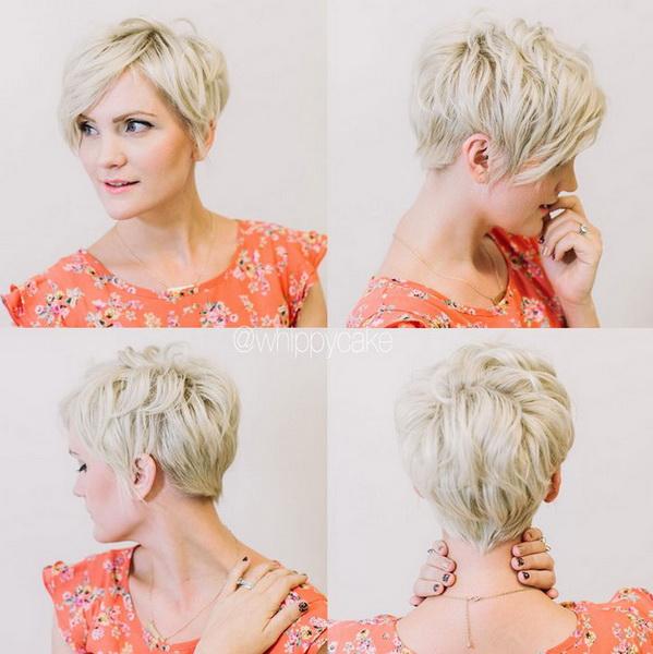 freza par scurt blond