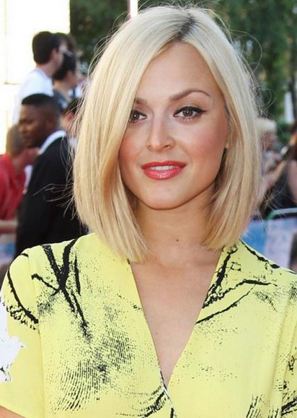 tunsoare par mediu blond