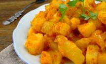 Cartofi țărănești cu boia dulce