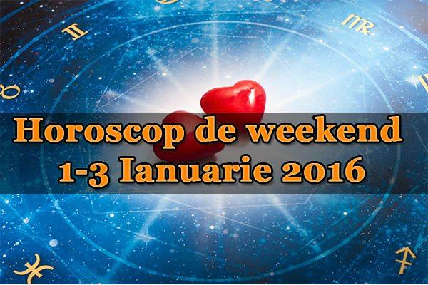 1-3 Ianuarie 2016