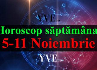Horoscop săptămânal 5-11 Noiembrie 2018