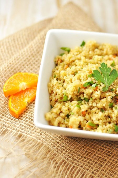Pilaf cu quinoa