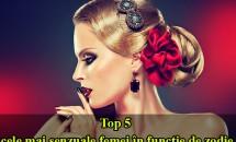 Top 5 cele mai senzuale femei în funcţie de zodie