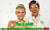 Top 5 zodii care au cele mai mari şanse să se căsătorească în 2016