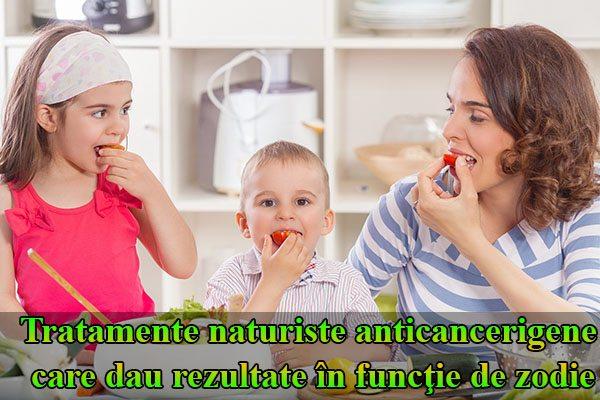 Tratamente naturiste anticancerigene care dau rezultate în funcţie de zodie