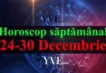 Horoscop săptămânal 24-30 Decembrie 2018