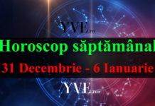 Horoscop săptămânal 31 Decembrie 2018 - 6 Ianuarie 2019