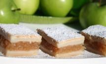 Prajitură cu mere și scorțisoară